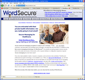 WordSecure - Secure Messaging for Businesses